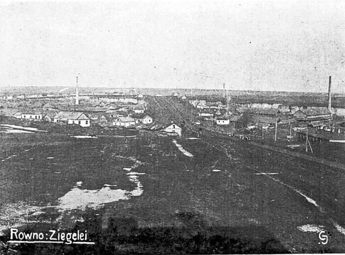 Район Цегельня, поч. ХХ ст. Фото з history.rv.ua/