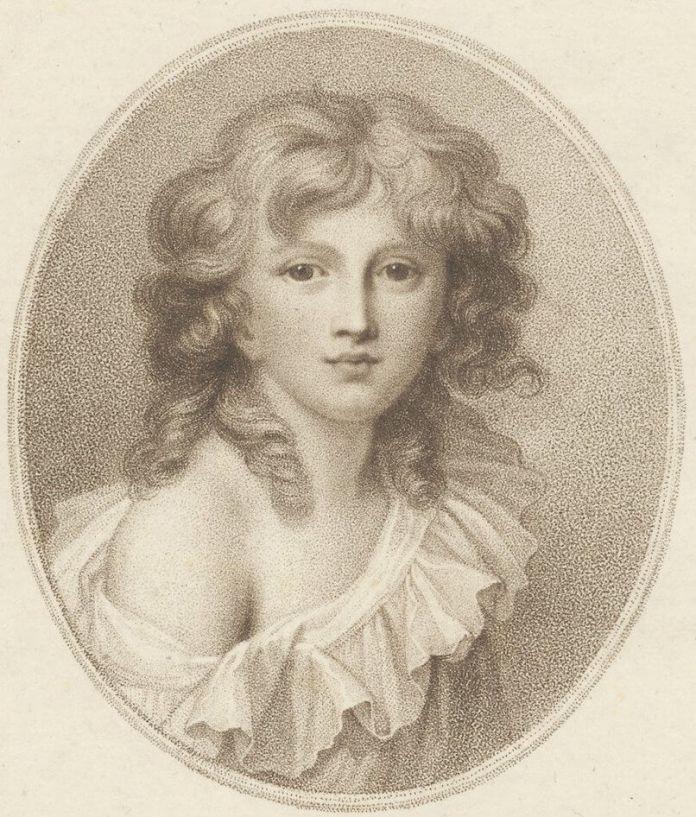 """Річард Косвей """"Мініатюрний портерт принца Генрика Любомирського"""", 1787 рік. Рівненський князевич у десятирічному віці"""