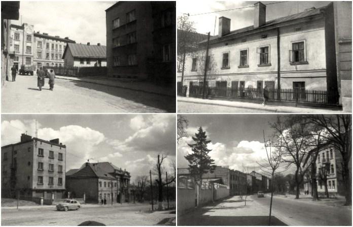 Район вулиці Шевченка, Маяковського і Зелена 1960 року в об'єктиві Юліана Дороша