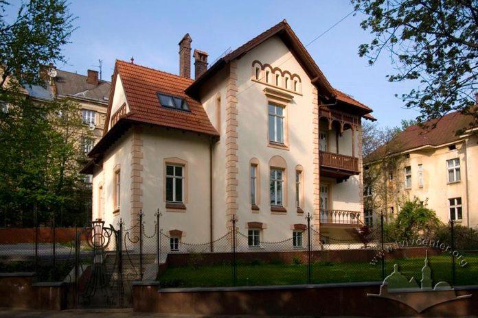 Вілла на сучасній вулиці Метрологічній, 2, де прожив останні роки Людвік Вежбицький. Сучасне фото