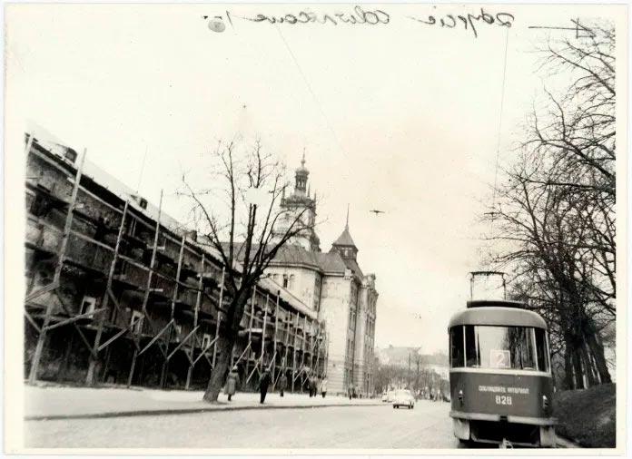 Львів, вулиця Підвальна, 1970 рр.