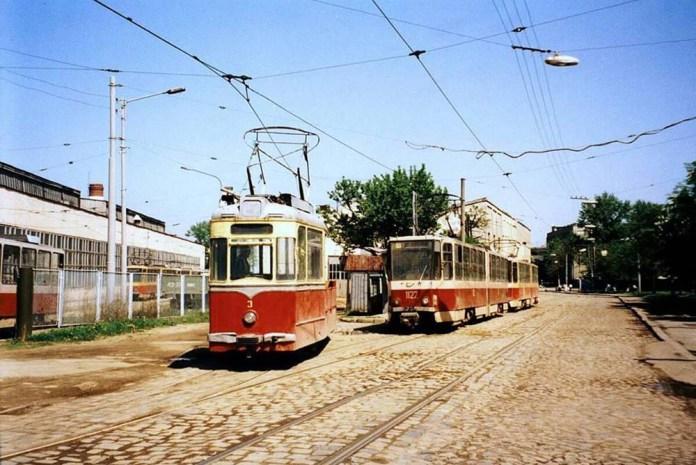 Вантажний трамвайний вагон на основі «Gotha T2-62» із № 3. Він працював у трамвайному депо № 2 на вулиці Промисловій. Списаний 2008 р.