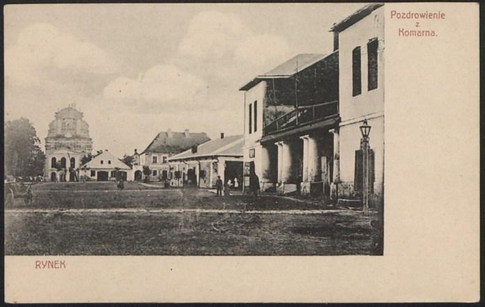 Комарно, 1908 р.