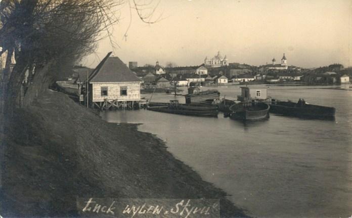 Пристань біля красненського мосту