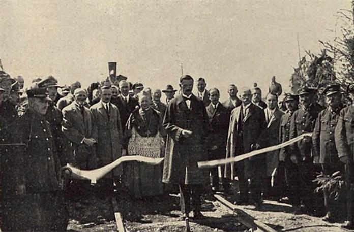 Відкриття руху на залізниці Стоянів – Луцьк. 1928 р.