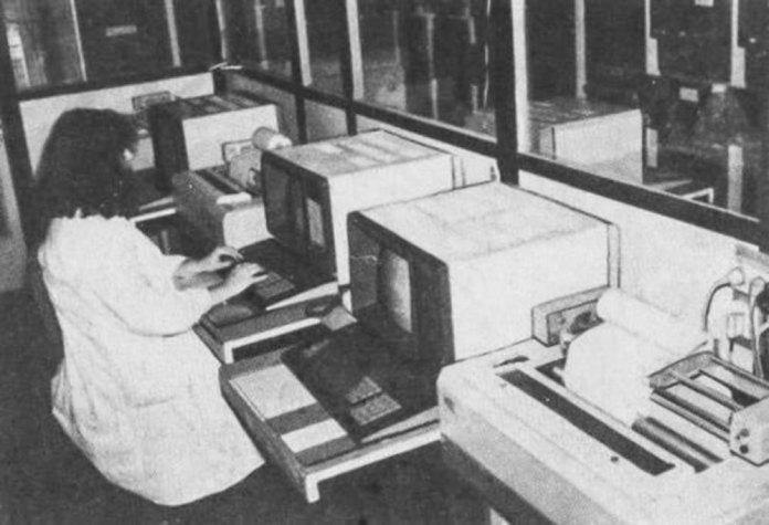 Перші персональні ком'ютери у обчислювальному центрі Львівської залізниці. 1980-ті рр.