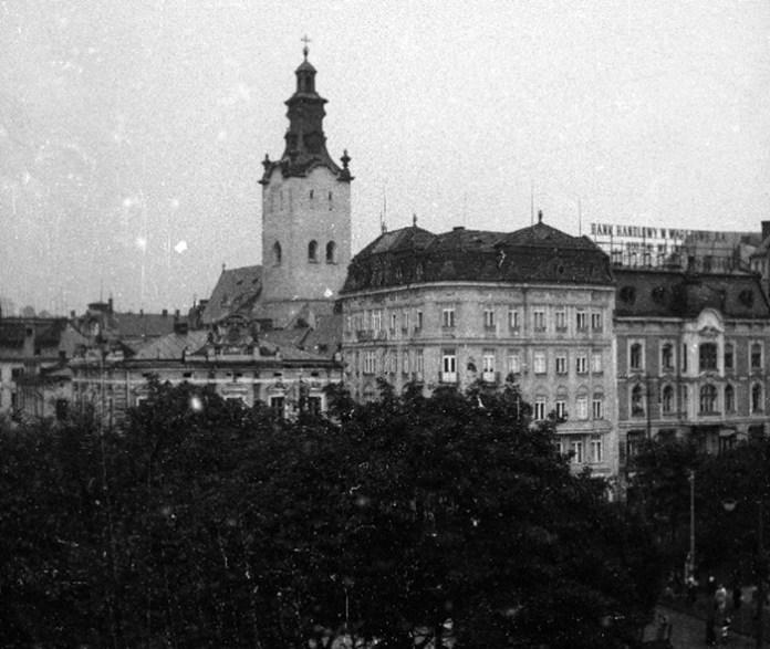 Львів на фото 1938 року. Фото: Генрик Поддембський