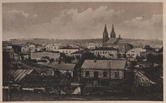 Панорама міста Рівне поч. ХХ ст