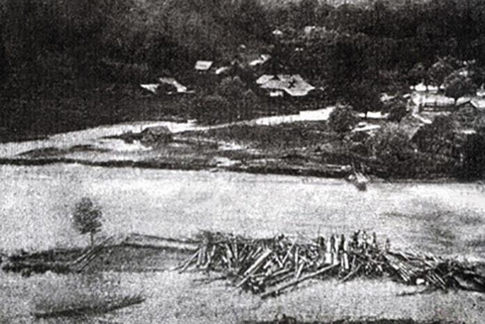 Будинок Грушевських у Криворівні. Фото О. Недільського, 1910 р. Джерело: http://immh.kiev.ua/litni-vakatsiyi-mihayla-grushevskogo-u-krivorivni-za-shhodennikom-vchenogo-ta-epistolyarnimi-dzherelami/