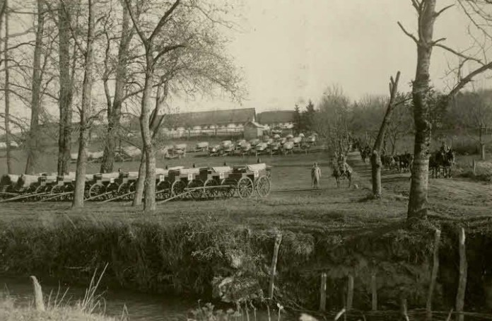 Селище Поморяни Львівської обл., 1914-1918 рр.