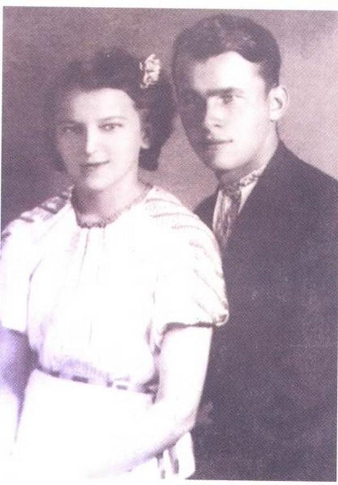Ольга Ільків з чоловіком
