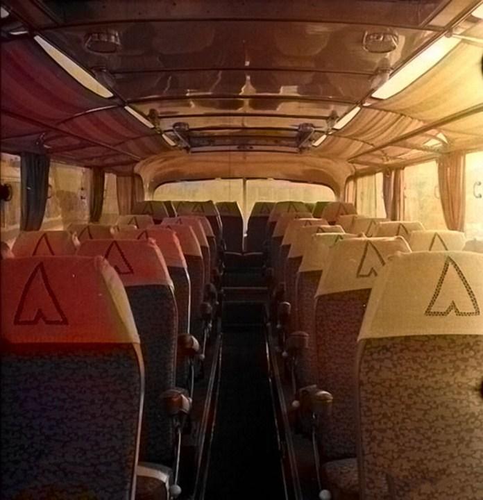 Салон експериментального автобуса «Україна-1»