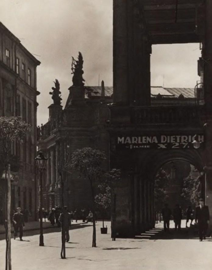 Вид на театр, ЛЬвів 1920-1930-ті рр.