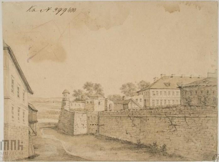 Дубно, фрагмент фортеці