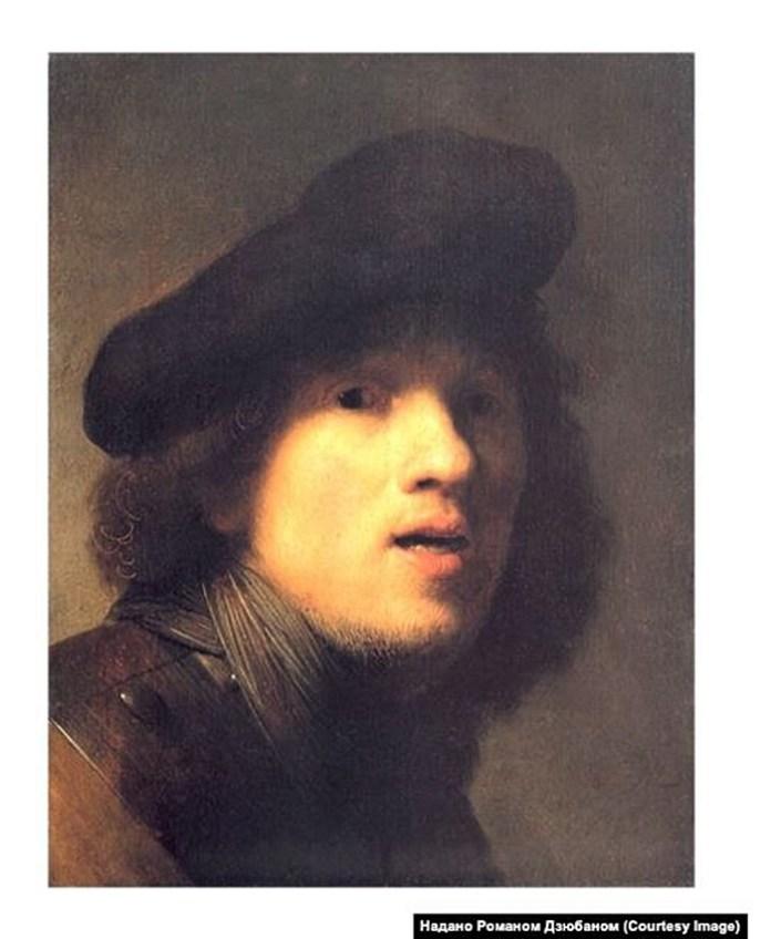 Рембрандт, «Автопортрет»