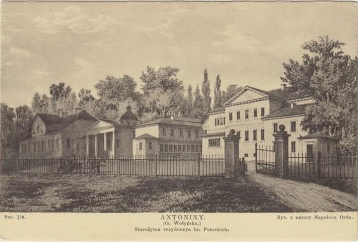 Антоніни, старовинна резиденція графів Потоцьких