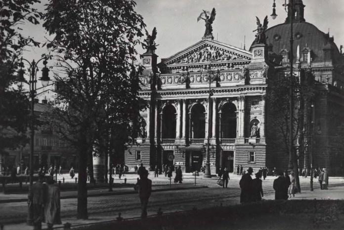 Оперний театр. Львів, 1920-1930-ті рр.