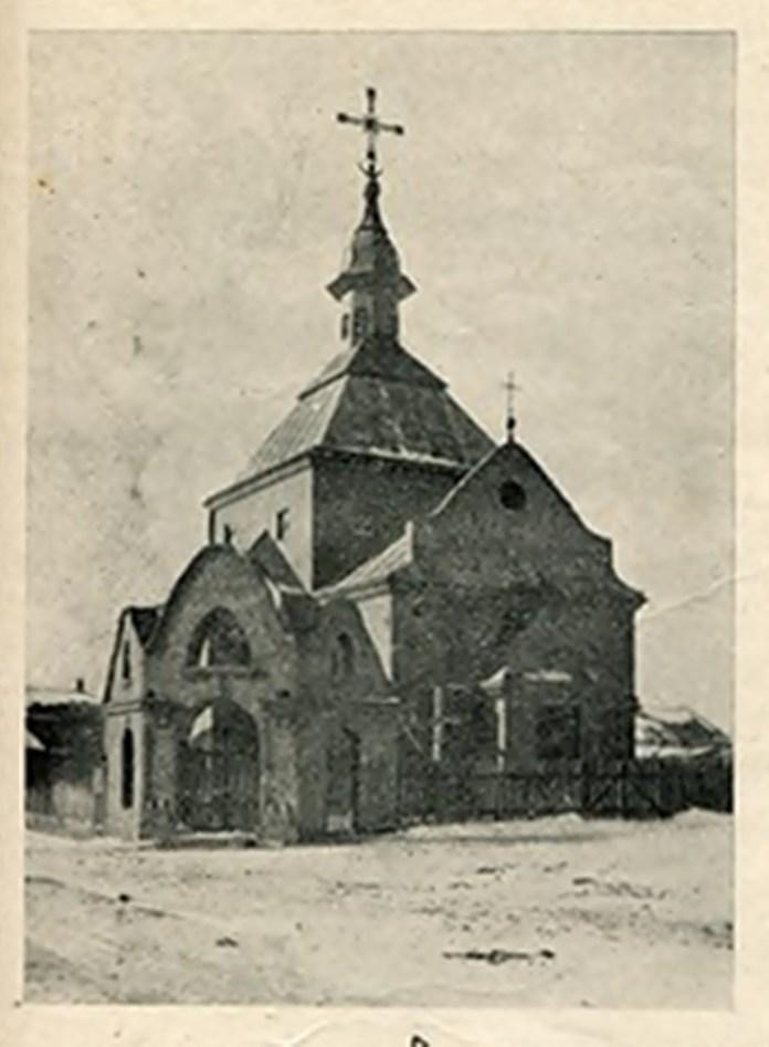 Церква св. Андрія і св. Йосафата на Левандівці, 1930 р.