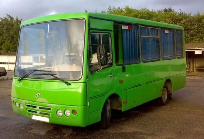 Малий міський автобус ХАЗ-3250 «Антон», розроблений НДІ «Укравтобуспром» для Херсонського автозаводу
