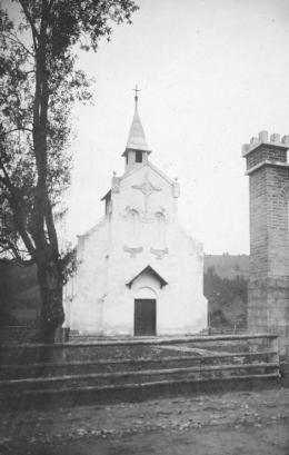 Світлина костелу авторства Генрика Ґонсьоровського