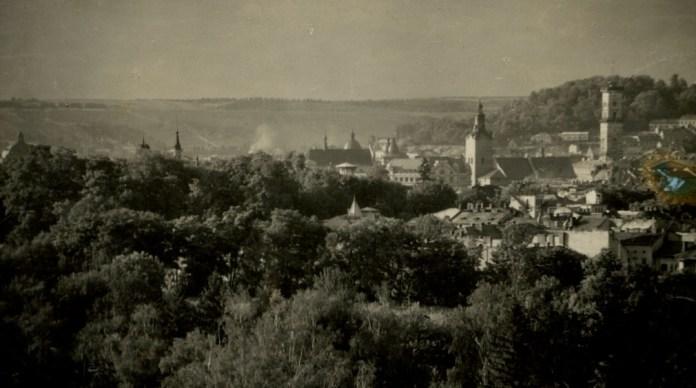 Панорама Львова, 1921 р. Фото: Ян Булгак