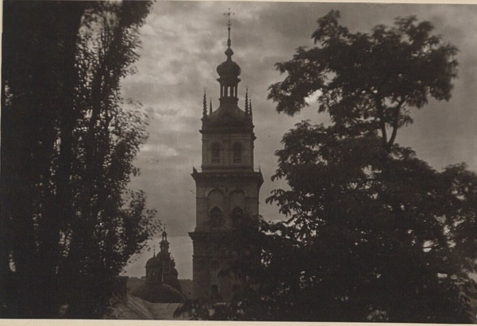 Вежа Корнякта, 1921 р. Фото: Ян Булгак