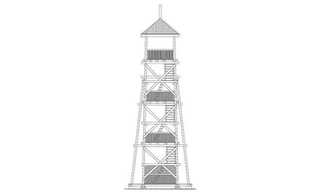 Проект оглядової вежі на річці Західний Буг