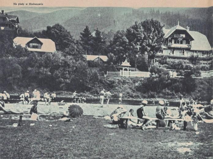 Пляж в Гребенові користувався популярністю