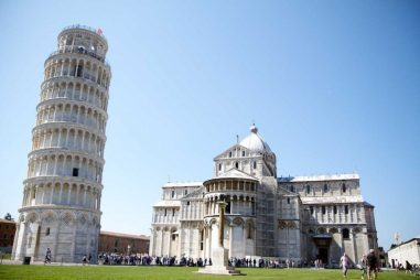 Порятунок Пізанської вежі (Італія) viaggioincoppia.com