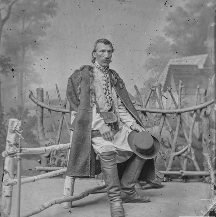 Чоловік, Східна Галичина, 1865 р. Фото: Ігнаци Крігер