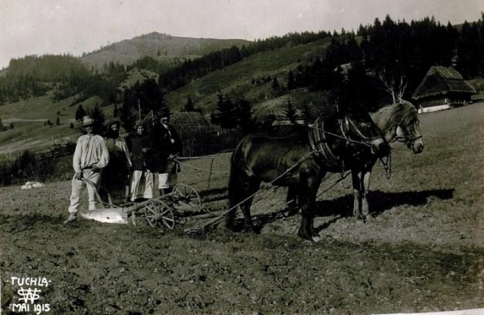 Село Тухля Сколівського району, 1915 р.