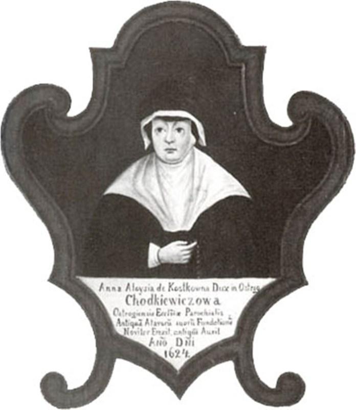 Анна Алоїза Ходкевич Острозька. Зображення з Вікіпедії