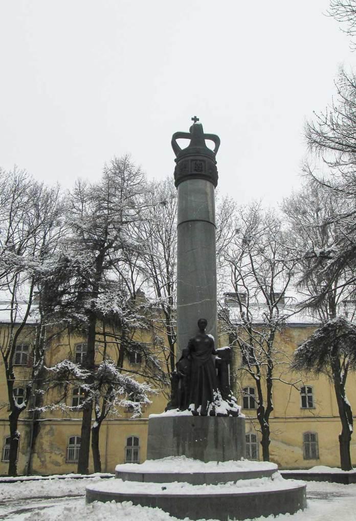 Пам'ятник «Просвіті». Фото Мар'яни Іванишин.