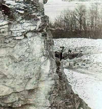 Фото скелі і складеного каміння. ХХ ст.