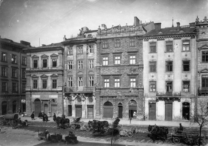 Чорна кам'яниця, фото 1945 р.