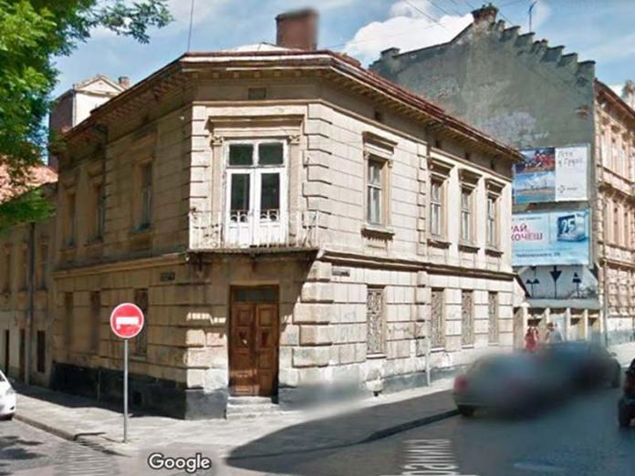 Львів, будинок по вул. Чайковського, 31. Світлина 2015 року (GoogleMaps)