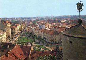 Вид на дахи Львова часів СРСР