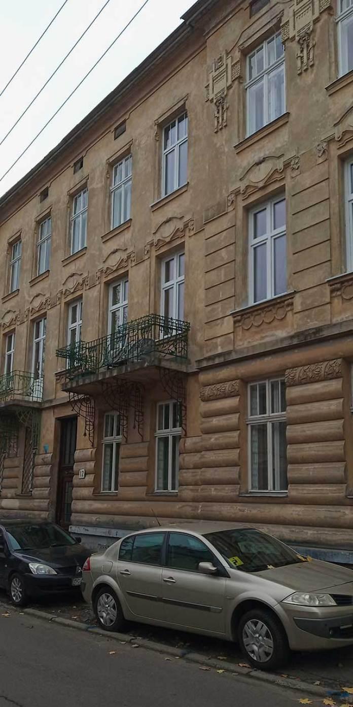 Будинок №12 по вулиці Гартмана Вітвера. Фото Мар'яни Іванишин