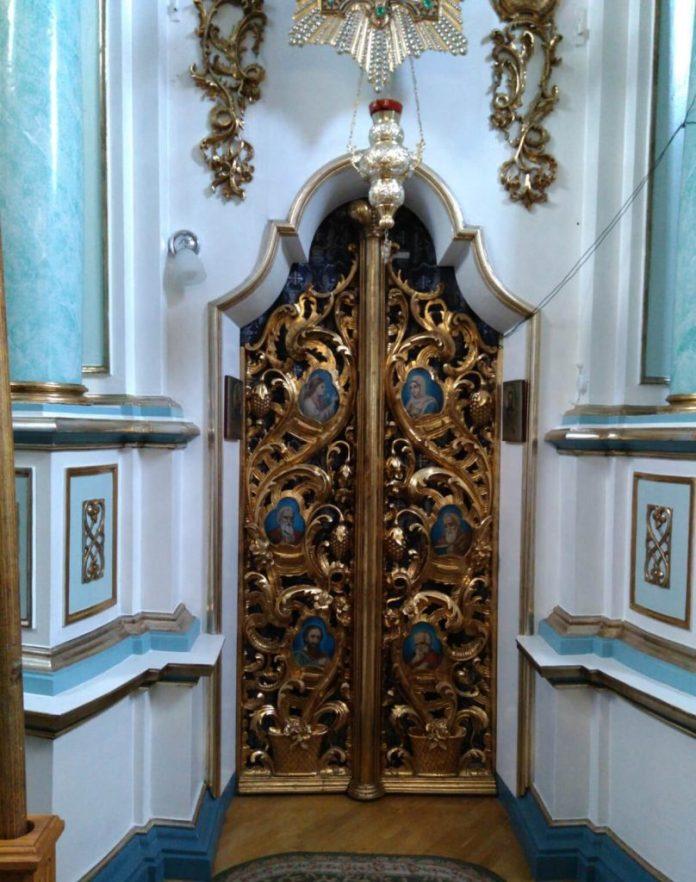 Царські врата збережено в первозданному вигляді
