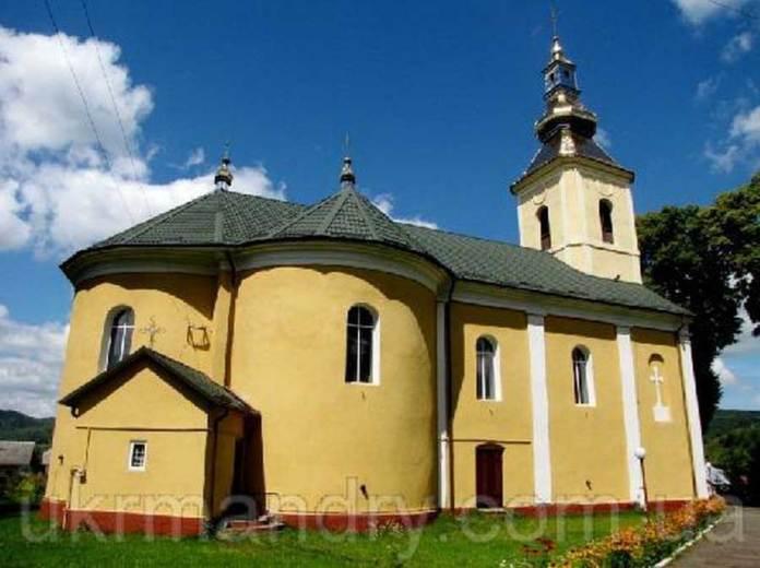 Церква у Верхньому Синьовидному. Джерелоukrmandry.com.ua