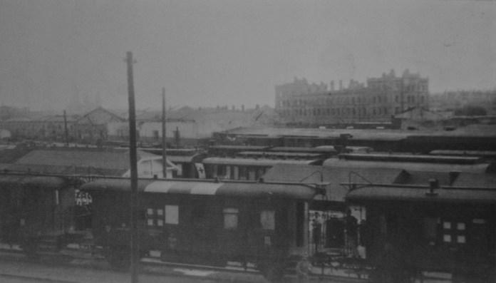 Чернівецький вокзал після бойових дій І світової війни