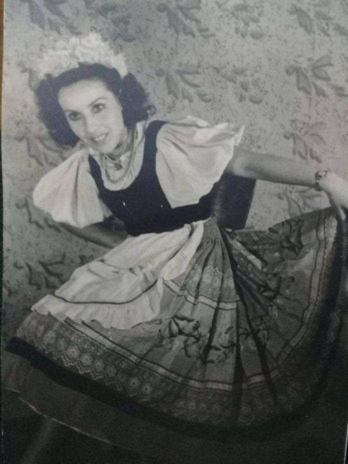 Алла Логошовець – провідна актриса балетної трупи 1950-х років