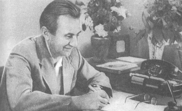 Б. Венеракі – один із конструкторів тролейбусів «Київ», головний інженер Київського заводу електротранспорту в 1960-х роках