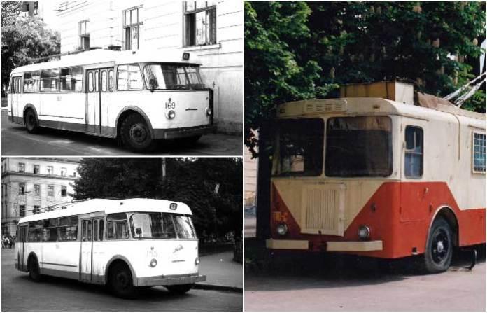 Тролейбуси «Киянки» на вулицях Львова