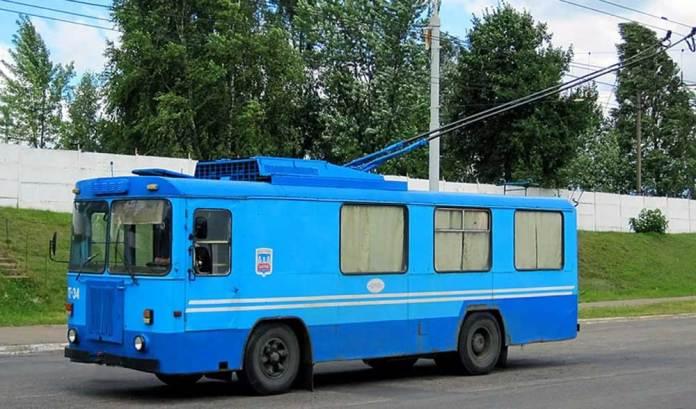 Тролейвоз-пересувна їдальня КТГ-4. Сучасне фото