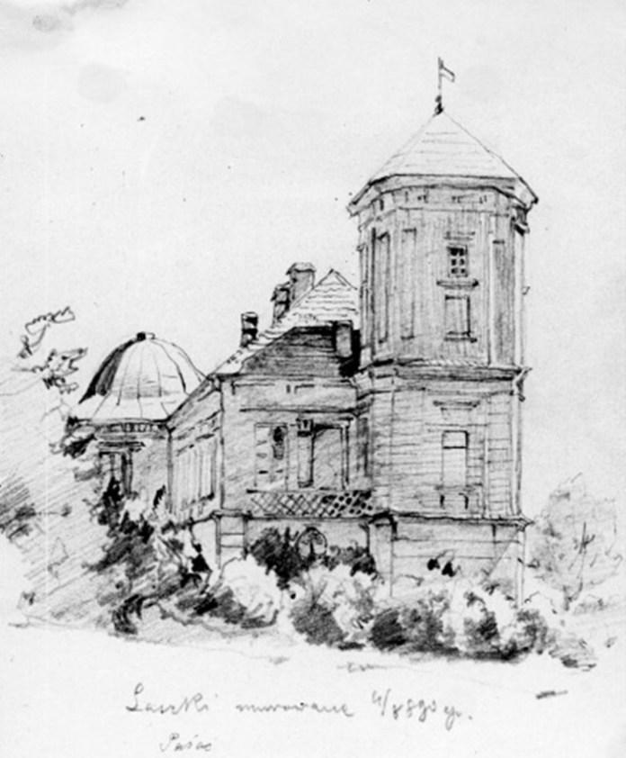 Замок у Мурованому, 1910-ті рр.