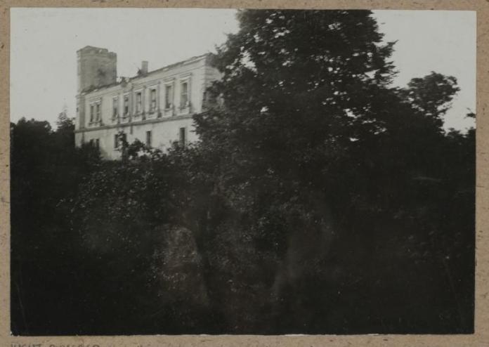 .Замок в Мурованому, 1918 р.