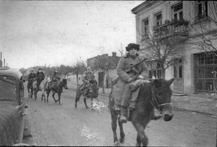 Партизани патрулюють місто