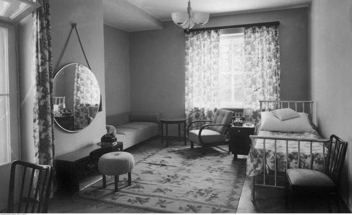 Апартамент моршинської здравниці. А це 1938 рік.