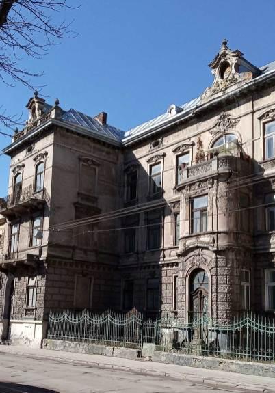 Будинок №4 по вул. Тершаковців. Фото Мар'яни Іванишин.